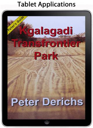 Kgalagadi Transfrontier Park (Tablet Application) - Peter Derichs