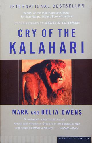 Nature/Wildlife related: Cry of the Kalahari -  Mark and Delia Owens